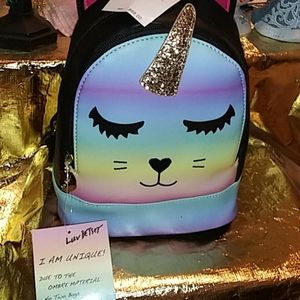 Betsey Johnson Ombre Backpack NWT